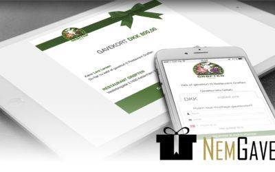 Skal din forretning også sælge elektroniske gavekort? Her får du 6 gode grunde.